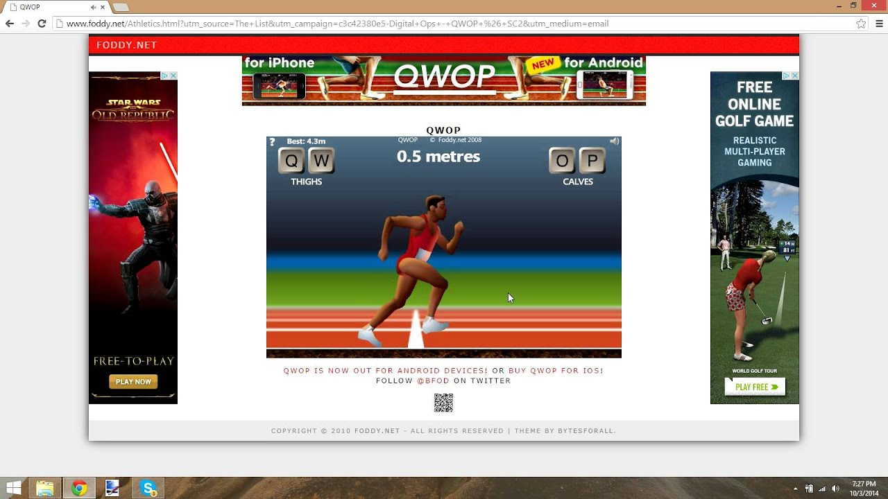 Noob training ep 2 how to qwop youtube noob training ep 2 how to qwop ccuart Image collections