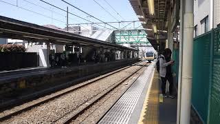 E233系8000番台横ナハN33編成 各駅停車川崎行き 平間駅到着
