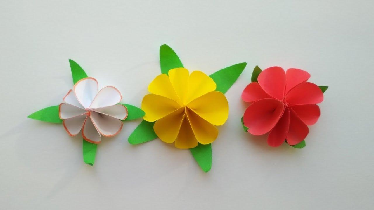 Поделки из бумаги. Лилия. Как сделать цветы своими руками ...