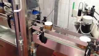 Автоматическая линия наполнения и укупорки высоковязких продуктов в стеклянные банки(, 2014-07-02T18:17:19.000Z)