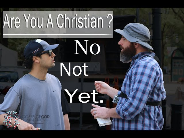 Gospel of God Ministries- Episode 35 (Jack Are You A Christian? No Not Yet.)
