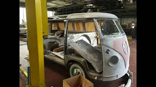 VW T1 Restauration |Karosseriebau Berlin | Verzinnen