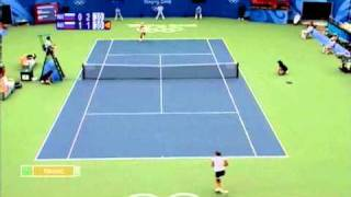 Dementieva - Safina Olympic Games Final Highlights Part 1