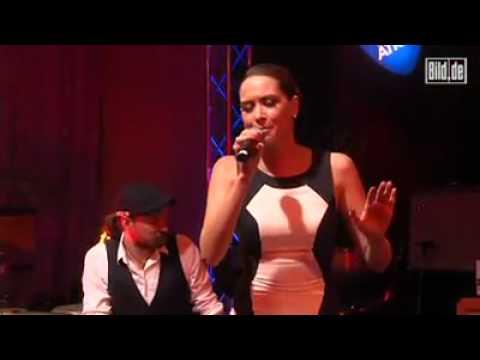 Mandy Capristo bei Music Meets Media 2012 [Bild.de]