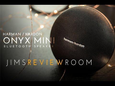 harman kardon onyx mini bluetooth speaker review youtube. Black Bedroom Furniture Sets. Home Design Ideas