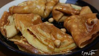 Юлия Высоцкая — Бисквитные блины с медово-ореховой начинкой