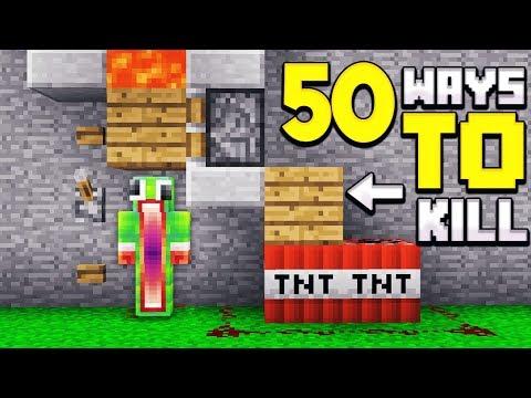 50 WAYS TO KILL UNSPEAKABLE IN MINECRAFT!