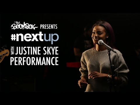 Justine Skye Performs 'Collide' With The Phony Ppl - #NextUp