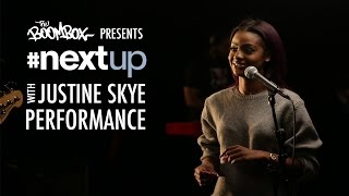 Justine Skye Performs