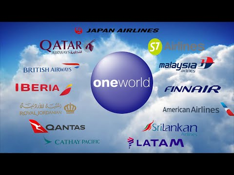 Oneworld Airline Alliance As Of 2020