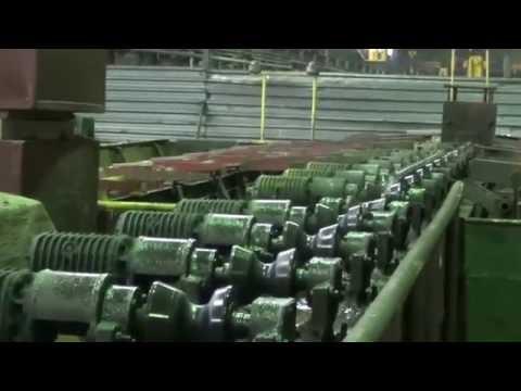 Производство шовных труб.