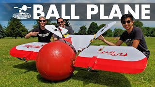 Building & Flying an Exercise Ball RC Plane! 🔴