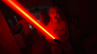 Surprised My Wife With A Lightsaber She Freaked Out