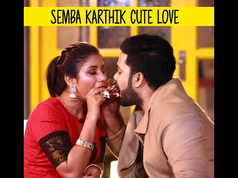 Raja Rani Semba Karthik Love Whatsapp Status   Real Life Cute Love Pair   Congratz