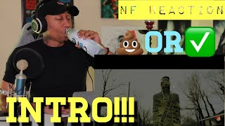 TRASH or PASS!! NF (Intro) [REACTION]