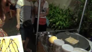 Блинчики с бананом в Тайланде