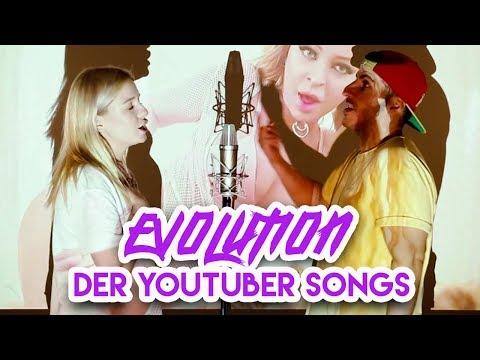 Evolution von YOUTUBER SONGS (Deutschland 2007-2018)