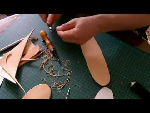 Кожаный чехол для складного ножа своими руками
