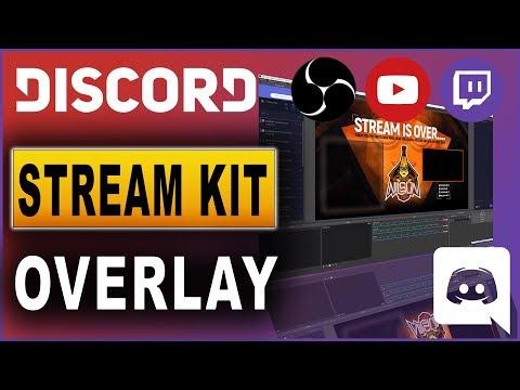 OBS Studio: Discord Stream Kit Overlay Einbinden (2019)