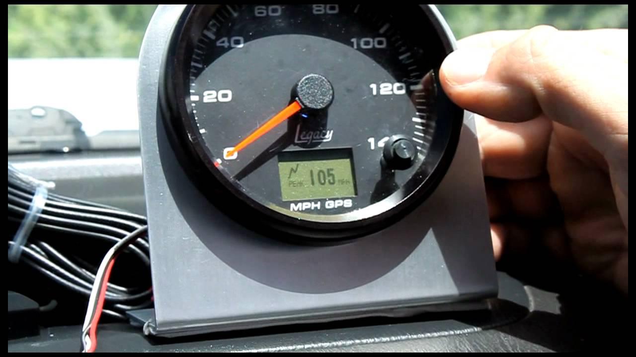 For A Cj 7 Wiring Diagram Gps Speedometer Demonstration Speedhut Youtube