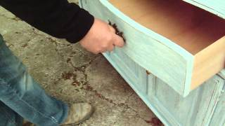 Large Painted Shabby Chic Dresser