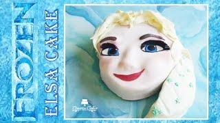 Frozen Fever Cake - Elsa (How to make) Oscar Winner 2014!
