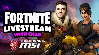 Fortnite Livestream With Chad!