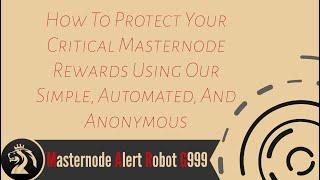 G999 Masternode Alert System