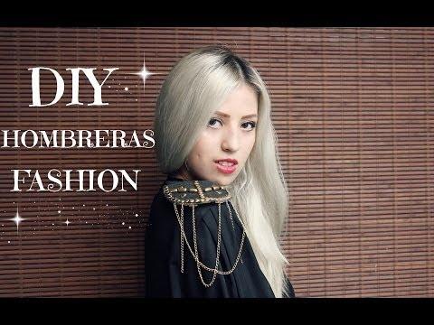 DIY hombreras fashion