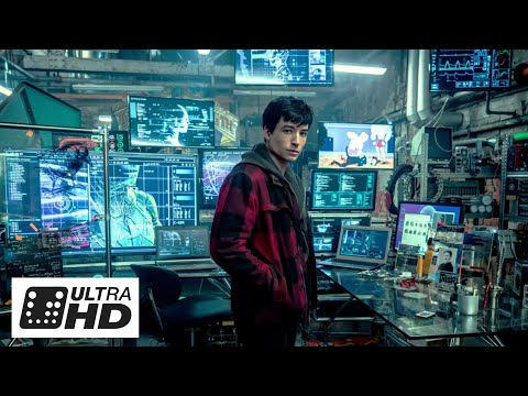 The Flash (Ezra Miller) All Scenes So Far Justice League 1080p