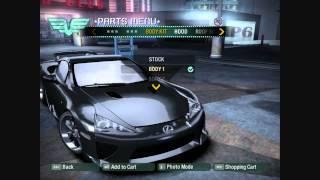 NFS Carbon Car Mods