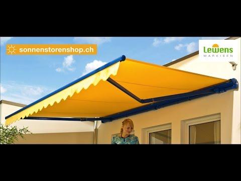 Sonnenstorenshop.ch Markisen der Marke Lewens