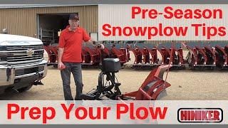Video still for Hiniker Snowplow Preseason Tips- Get Your Snowplow Ready for Winter
