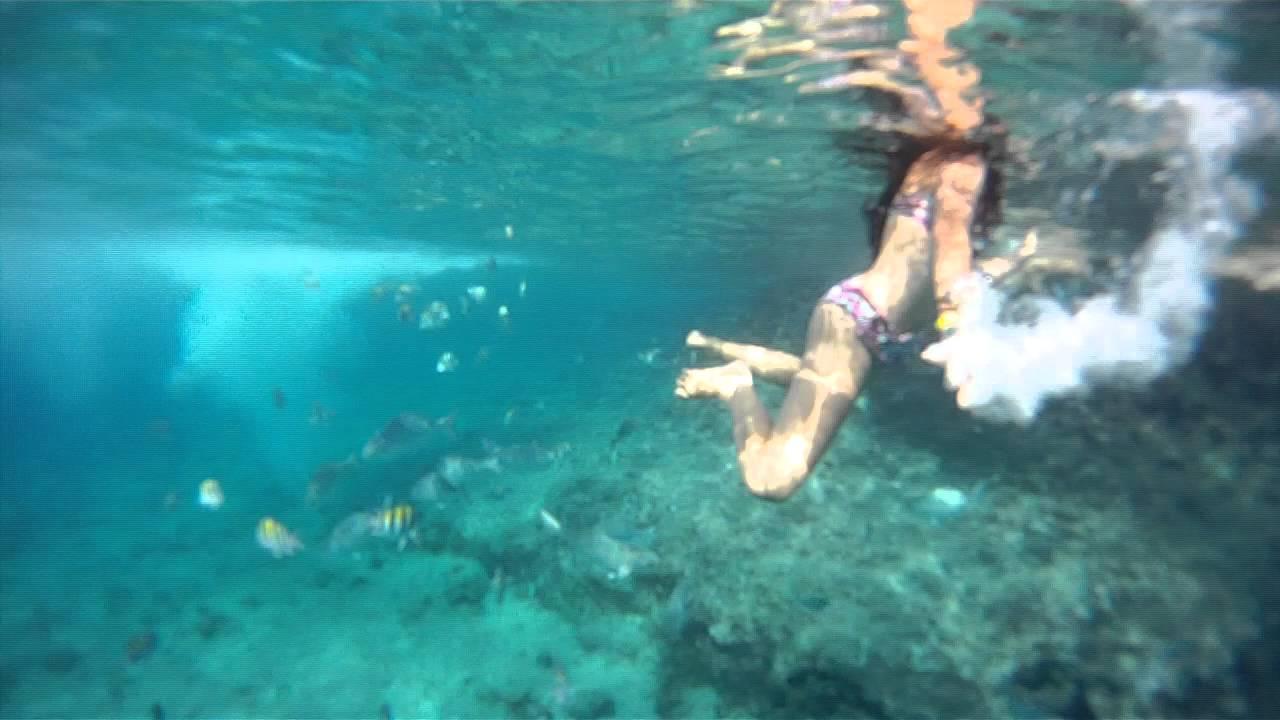 san andres islas  piscina natural  YouTube