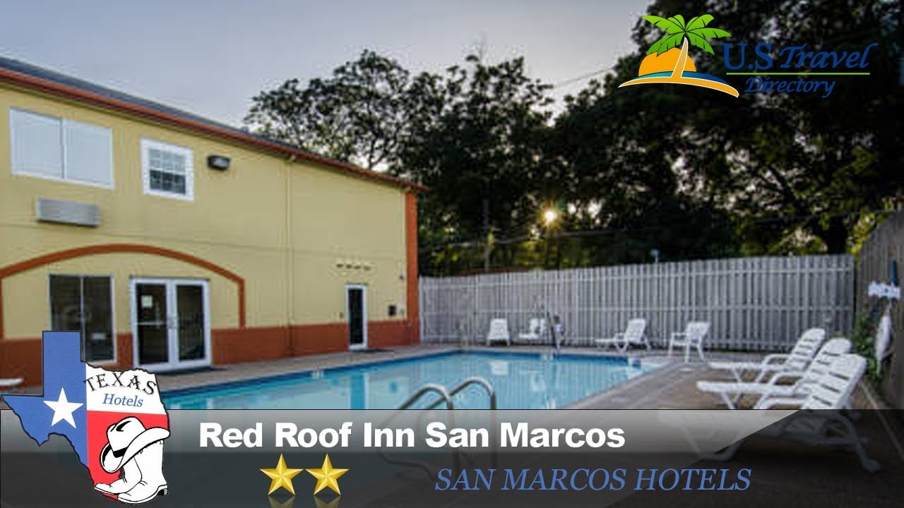 Red Roof Inn San Marcos Hotels Texas