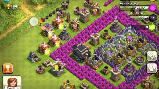 Clash of clans: Bomb placement