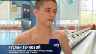 Невский район впервые принял юниоров России по прыжкам в воду