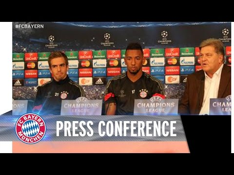 ReLIVE - Press conference with Lahm, Boateng and Guardiola