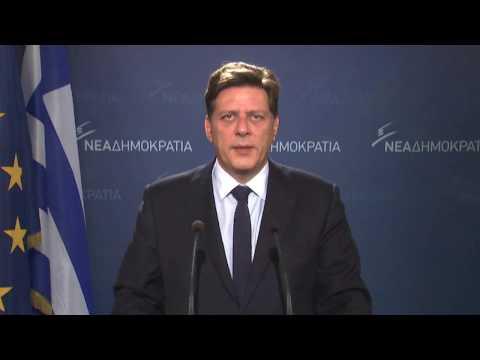 Δήλωση του Τομεάρχη Μεταναστευτικής Πολιτικής της Νέας Δημοκρατίας κ. Μιλτιάδη Βαρβιτσιώτη