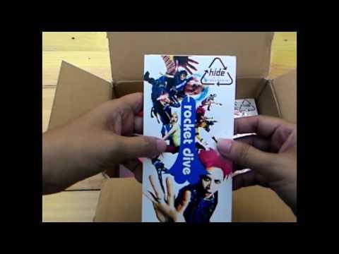 Unboxing CD  X Japan Hide Yoshiki Dir en grey Vamps