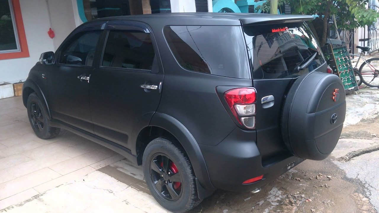 Kumpulan Modifikasi Mobil Warna Hitam Doff 2018 ...