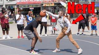 Nerd Exposes Hostile Hoopers at Venice Beach