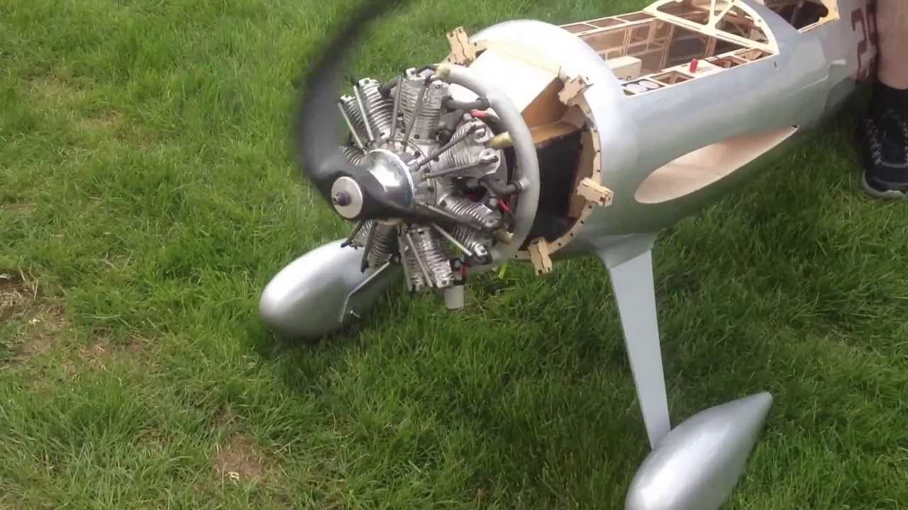 UMS 7-160cc Petrol Radial Engine