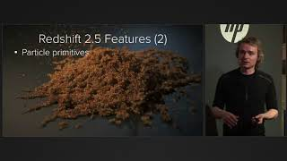 Redshift presentation at the SIGGRAPH 2017 NVIDIA booth