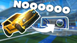 Score a goal, go DOWN a rank in Rocket League