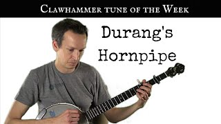 "Clawhammer Banjo Tune (and Tab) of the Week: ""Durang"