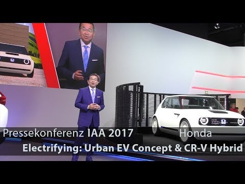 Honda relies on electric – Full IAA 2017 Press Conference