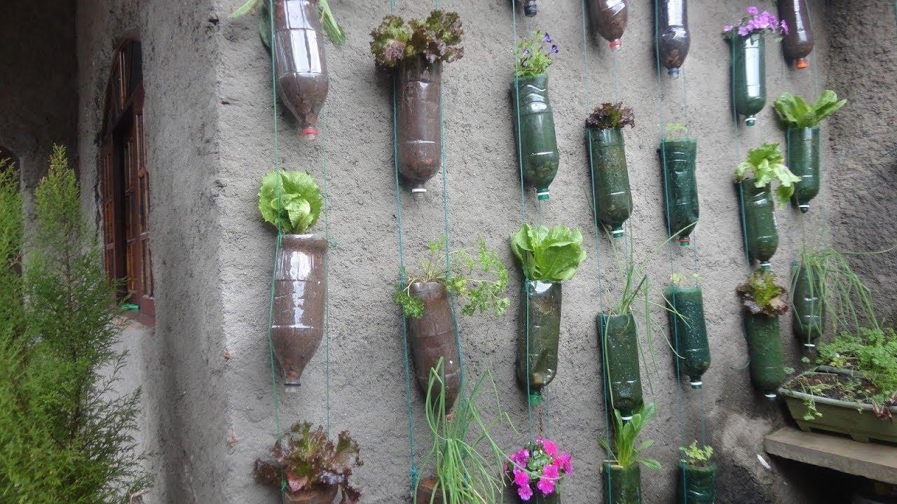 jardim vertical de garrafa pet passo a passo:Horta Vertical Em Garrafa Pet,, Passo a Passo – YouTube