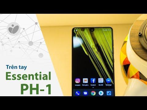 Tinhte.vn | Trên tay Essential PH-1: màn hình không viền, cứng cáp và thuần khiết