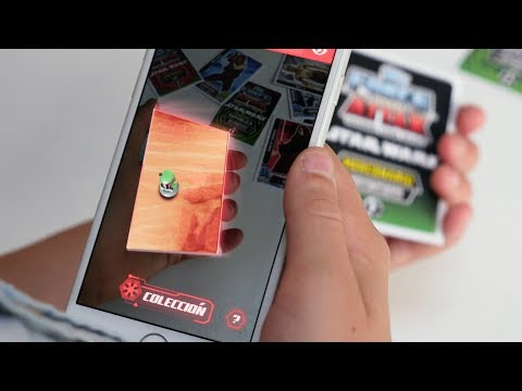 Augmented Reality For Retail Carrefour Spain Star Wars Tcc X